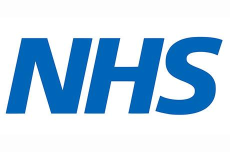 NHS logo for footer image