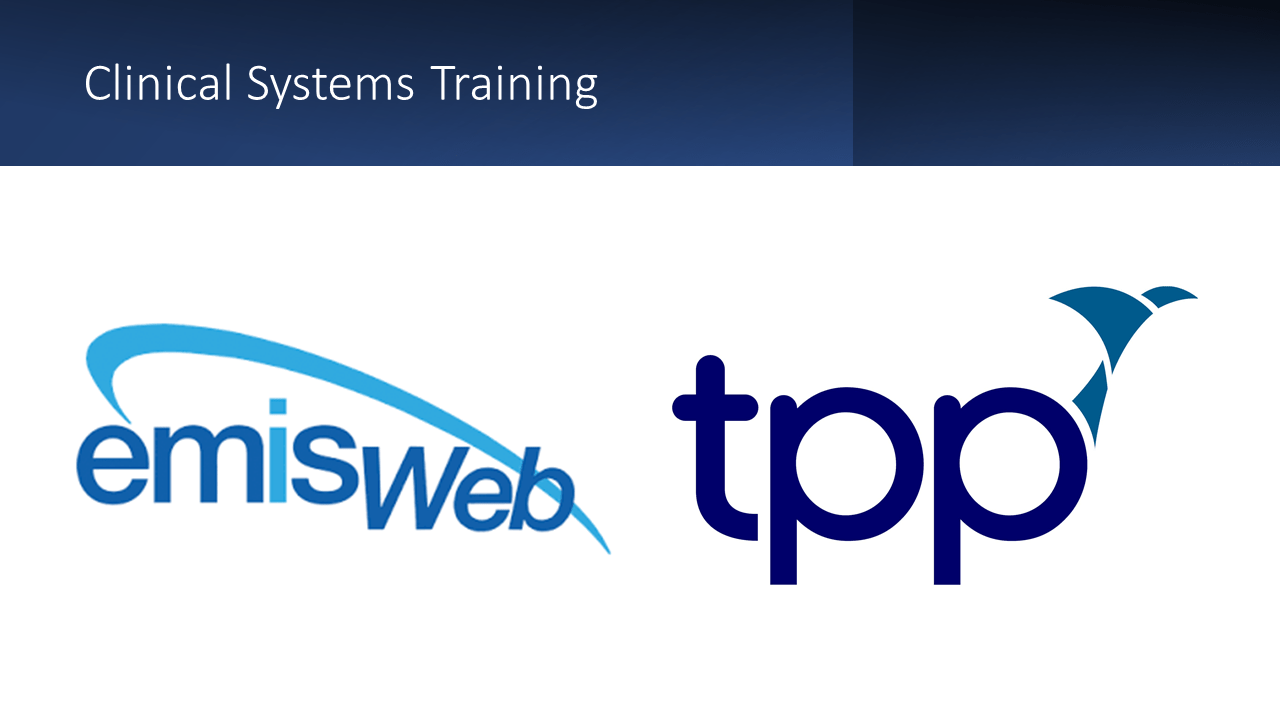 TPP SystmOne and EMIS Web logos - featured image for blog