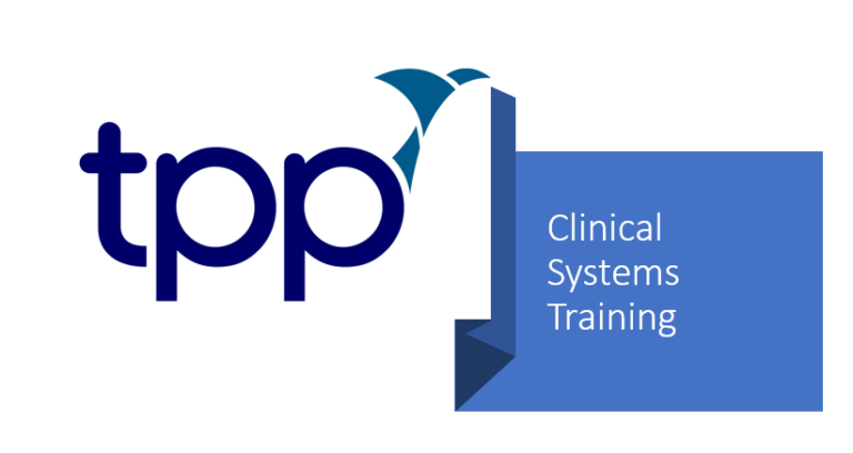 TPP logo - clinical systems training
